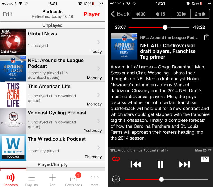 The best applications for listening to podcasts
