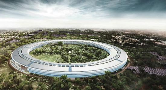 The budget for Apple's new offices is $5 billion