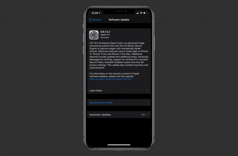 The iOS 13.2 and iPadOS 13.2 betas are now available