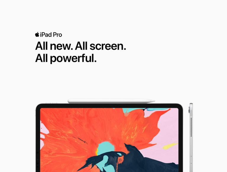 The iPad Pro 2018 is the star of the latest videos published by Apple