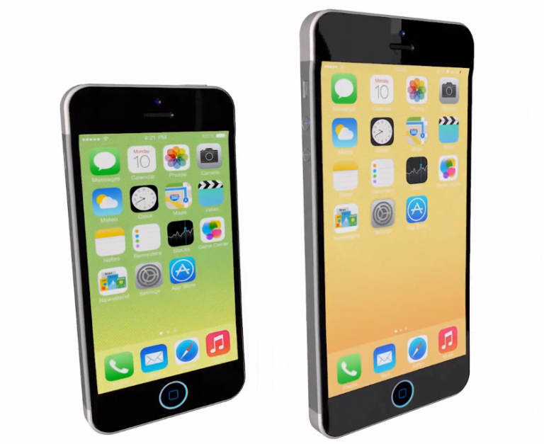 The iPhone 6 would have a big screen and become phablet