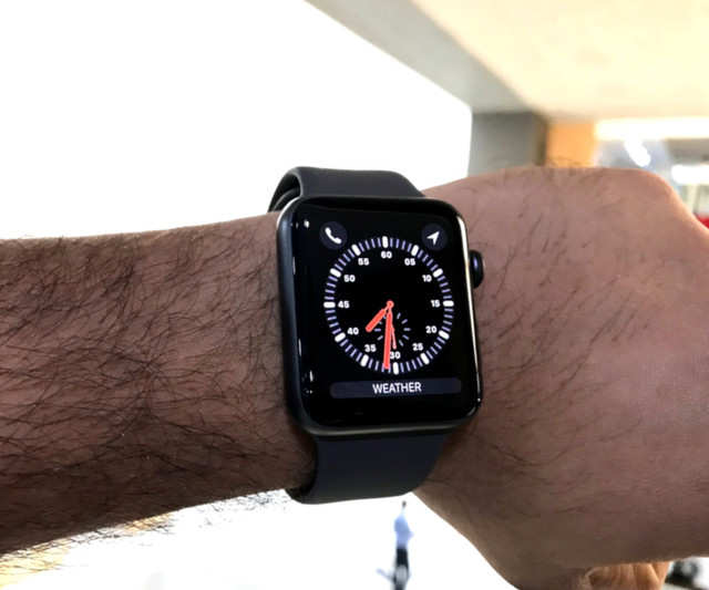 The LTE of new Apple Watches can only be used in the country of purchase