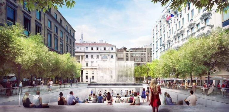 The spectacular Apple Store in Milan will open next Thursday, July 26