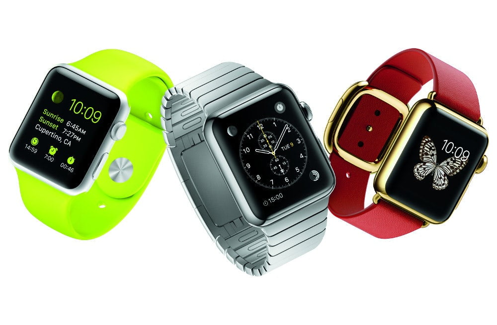 The success of the Apple Watch is taken for granted from Switzerland