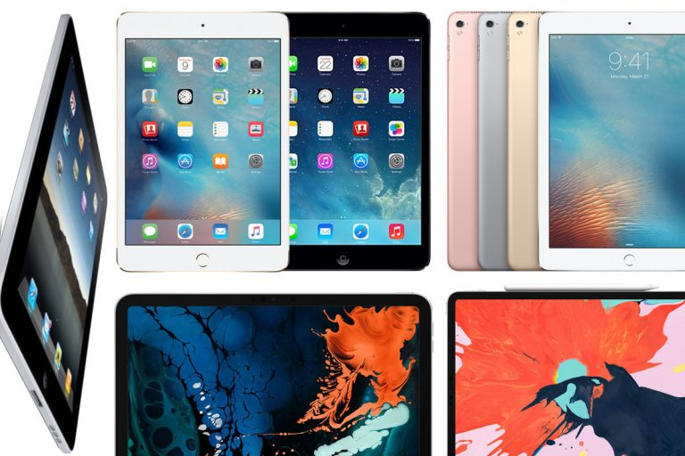 The tablet market continues to fall, despite good sales of the iPad