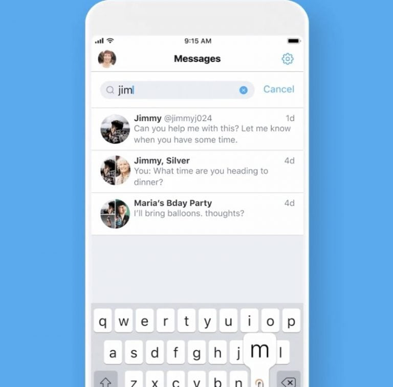 There could be an exclusive DM twitter app