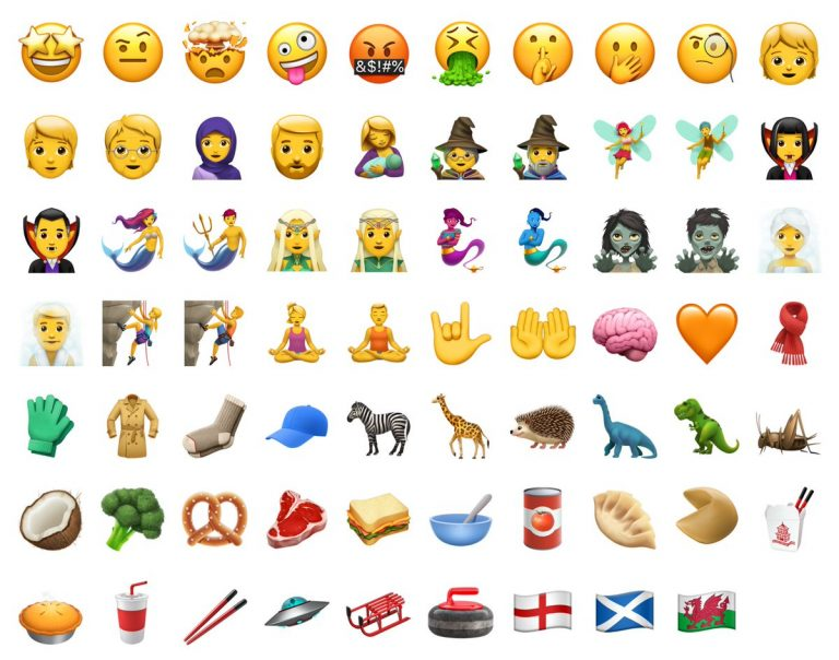 These are the 69 new emojis that Unicode 10 will bring to iOS