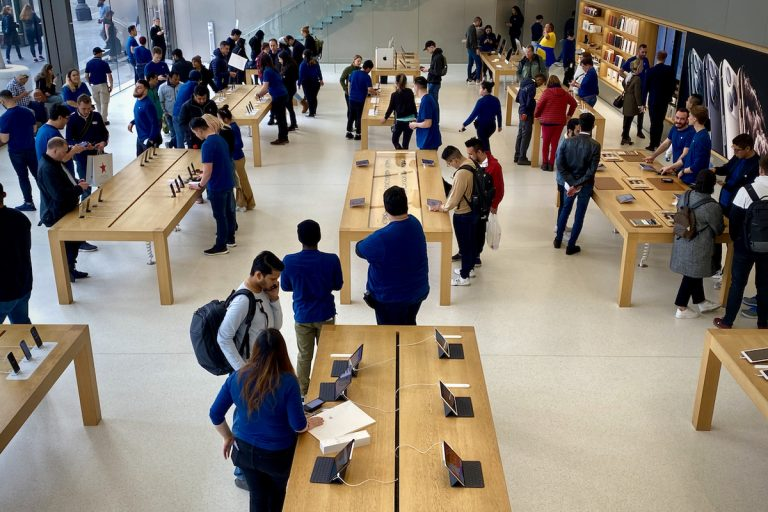 This is how Apple wants to end the lines at the Apple Store