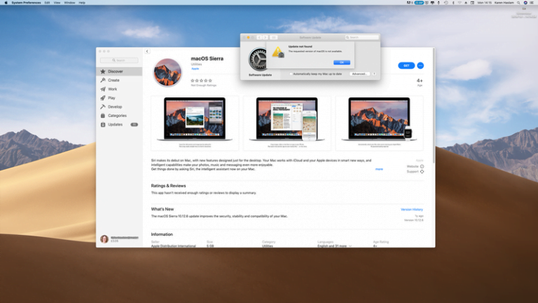 This is my experience with Sierra Macs and an old Mac