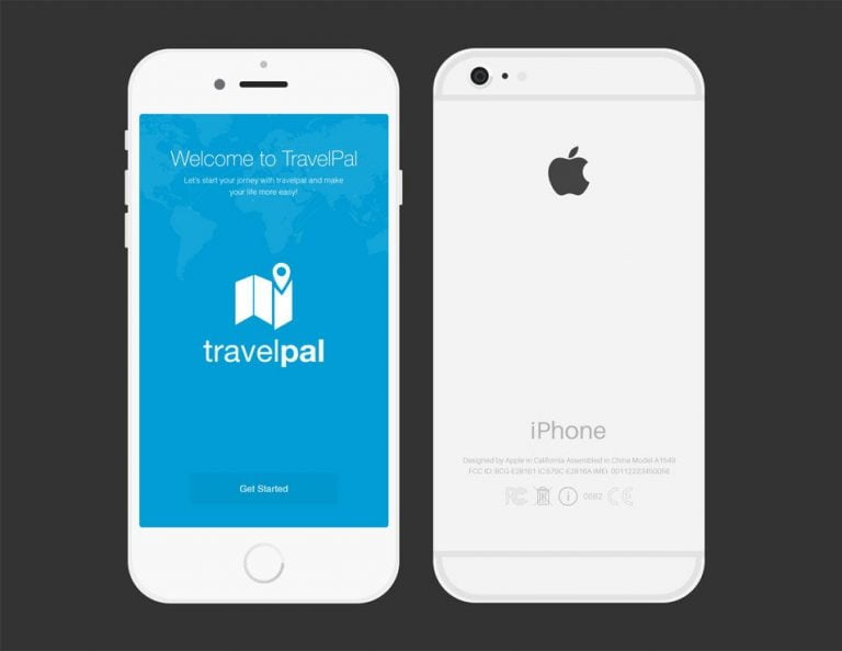 This is the iPhone 6 mockup based on Japanese sketches