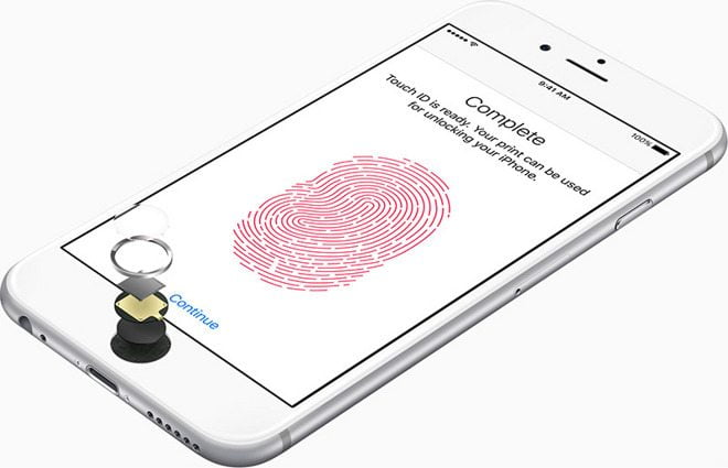 This patent shows the future of Touch ID