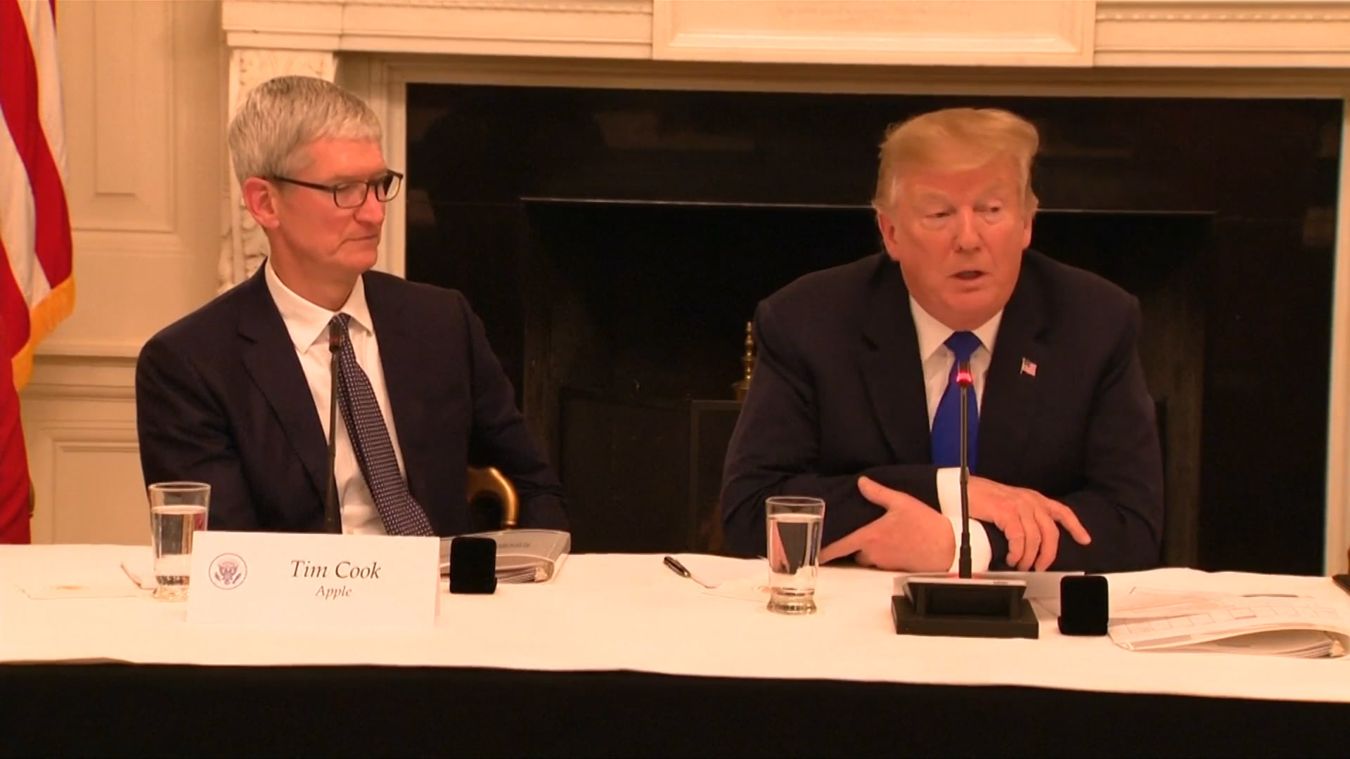 Tim Cook already has the iPhone X and he let it out… accidentally
