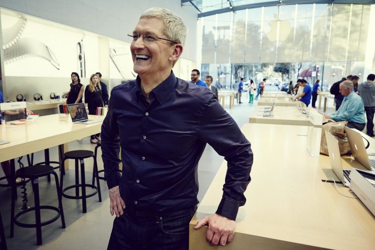 Tim Cook talks about it