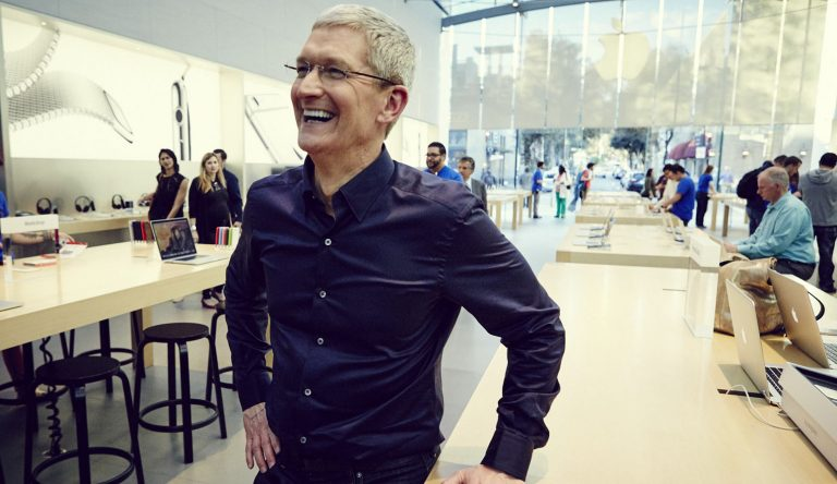 Tim Cook talks about the production of the Mac Pro and the sapphire