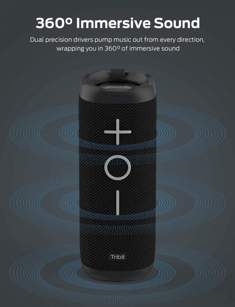 Tronsmart Bluetooth speaker with 360º sound, the best way to liven up your parties