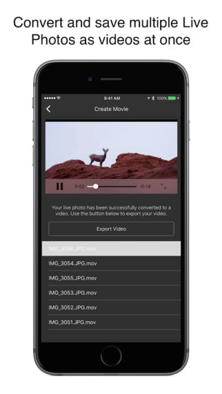 Turn your videos and gifs into a Live Photo with IntoLive
