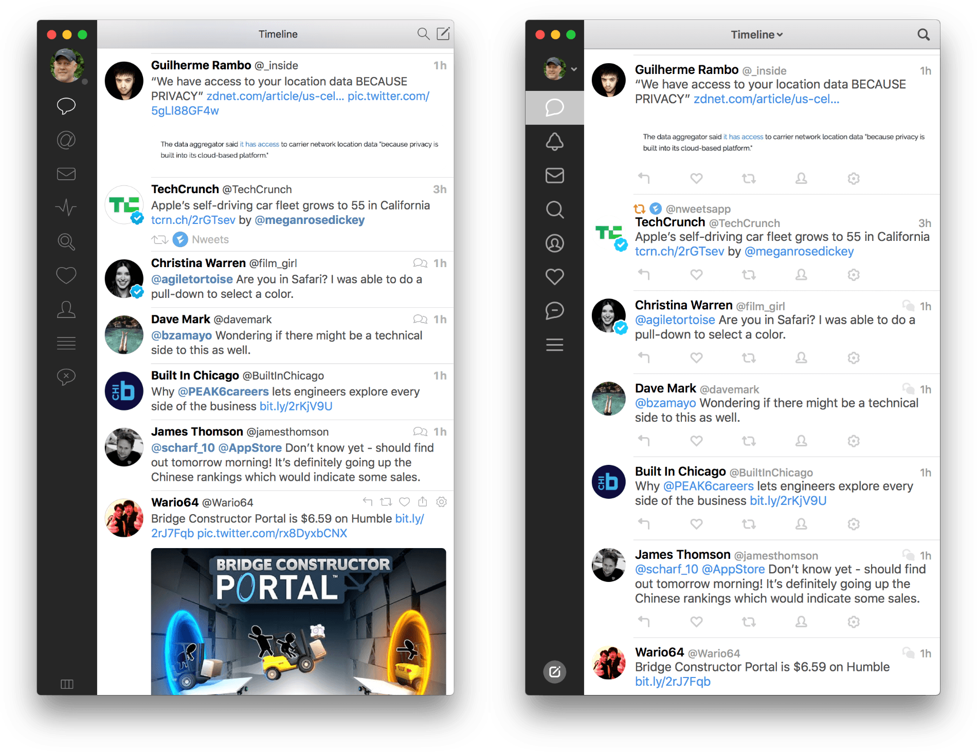 Tweetbot for Mac Redesign Preview