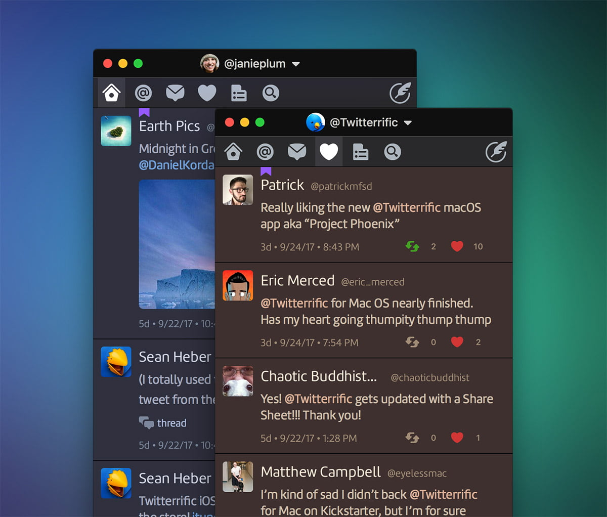Tweetbot improves its interface and functions in a new update for the Mac operating system