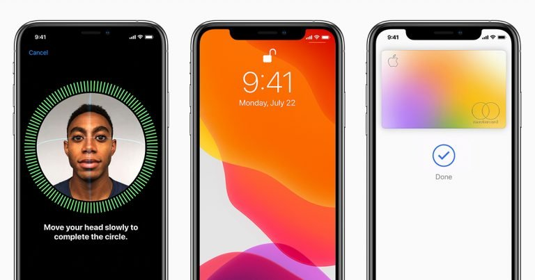 Unlock the new Face ID video at a glance