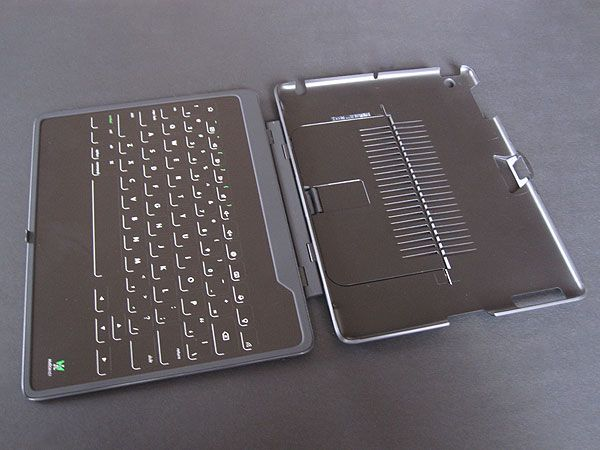We have tested the iPad 2-Skinny Keyboard from Hatch&Co