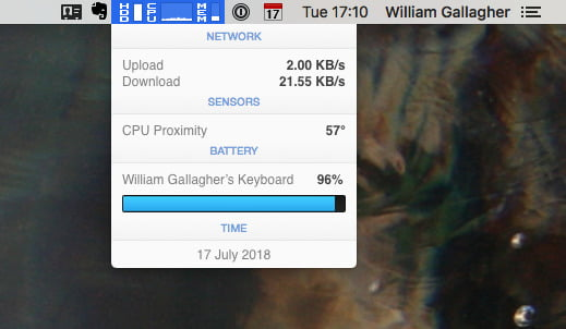 We tried iStat Menus 4, monitor your Mac from a different perspective