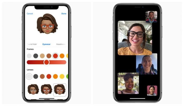 What are the new Apple Memoji included in iOS 12?