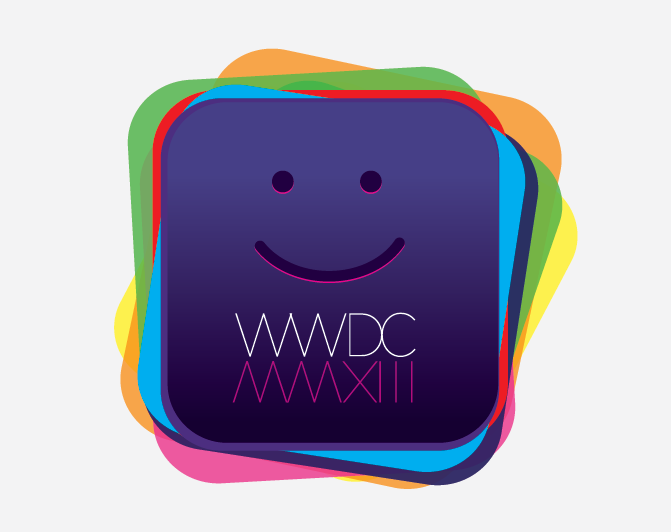 What does the WWDC 2013 logo show us?