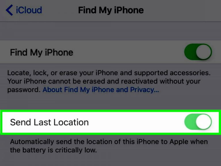 What if Find My iPhone works with the phone turned off?