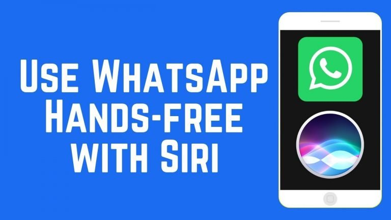 WhatsApp allows Siri to read the latest messages