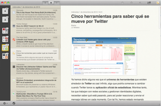 When is Reeder coming out for iPad and OS X?