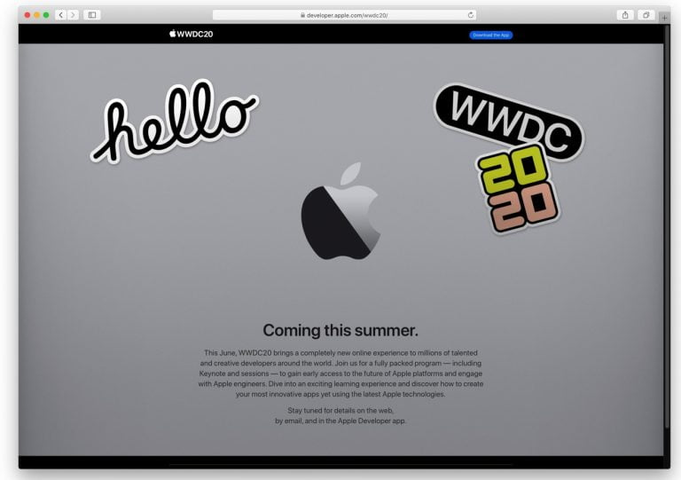 WWDC 2019 could take place between 3 and 7 June