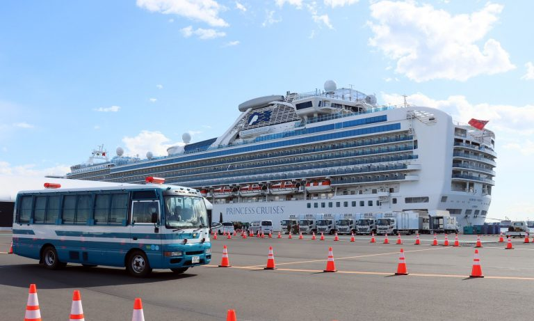2000 iPhone will be sent to passengers trapped aboard the cruise ship near Japan