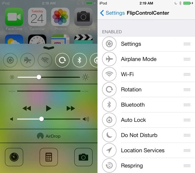 7 New Tweaks from Cydia for your iPhone