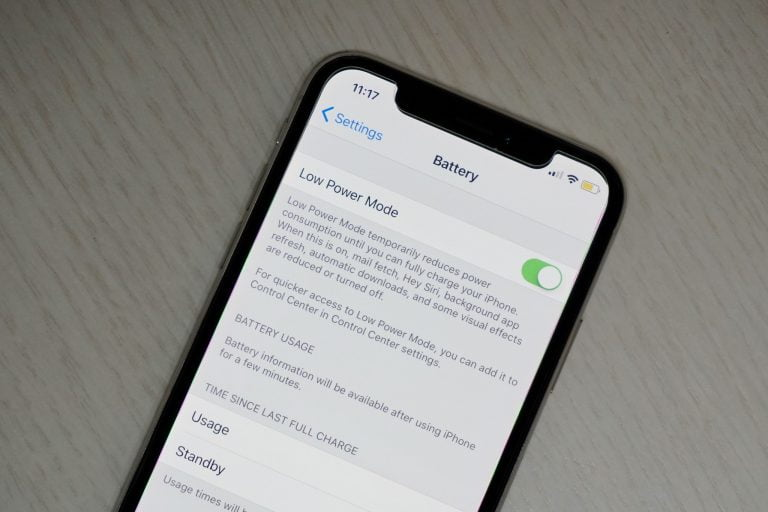 Adding Low Power Mode in the iOS Control Center 9