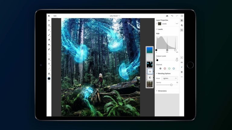 Adobe Photoshop for iPad now available for download from the App Store