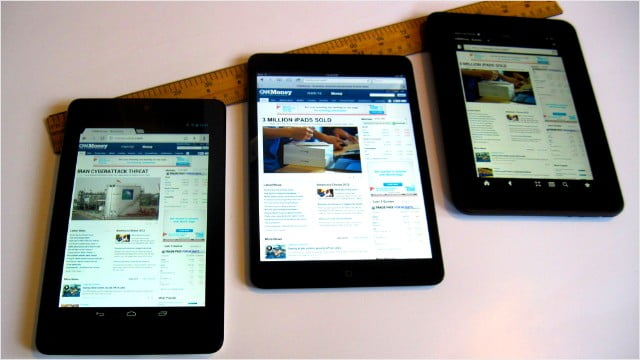 Amazon Kindle Fire HDX Outperforms iPad Air on the Screen