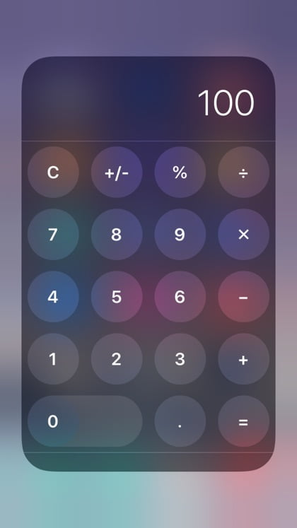 Apple does not allow Calculator Widgets in iOS 8