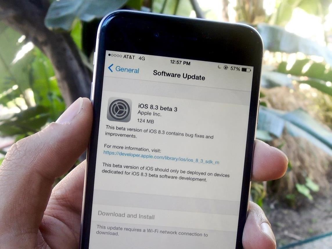 Apple Launches iOS 8.2 Beta 5 for Developers