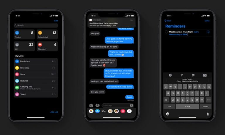 Apple launches the fourth beta of iOS 13.3 and iPadOS 13.3