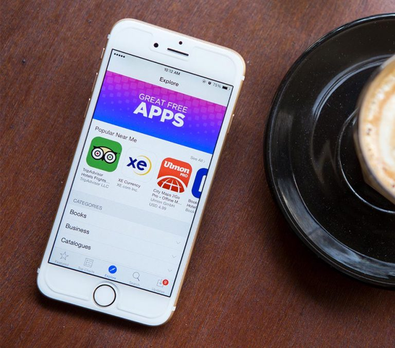 Apple Offers Free Apps through the Apple App Store for iOS
