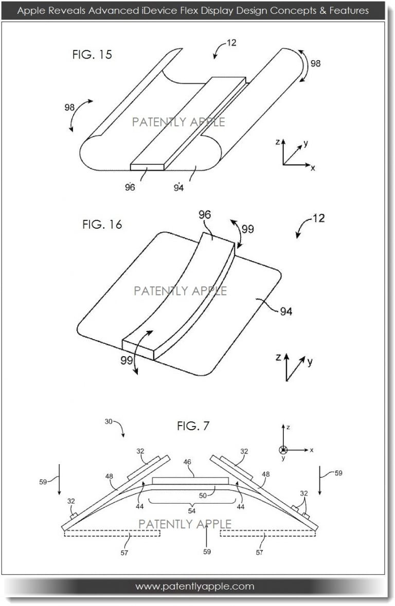 Apple Patents Flexible Display with Unique Functionality