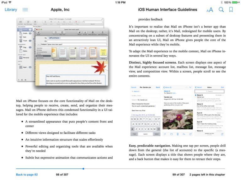 Apple Publishes iOS Human Interface Guidelines on the iBooks Store