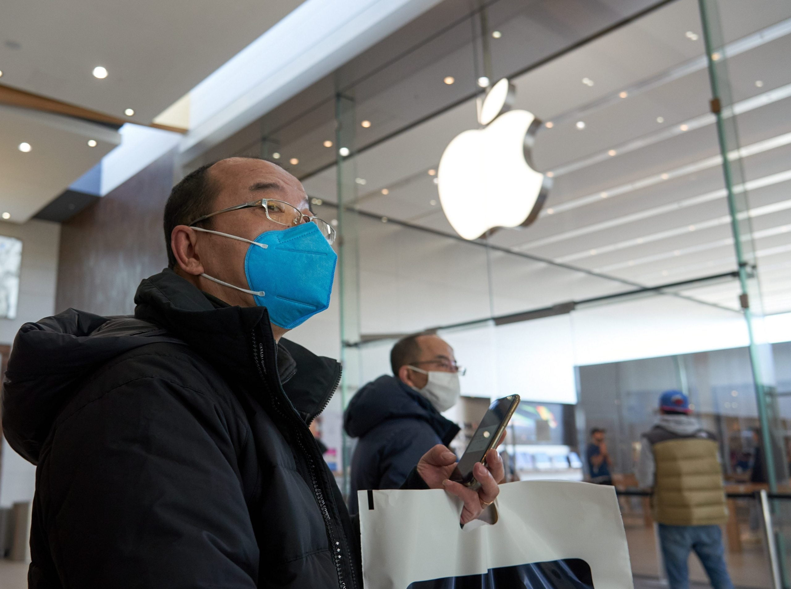 Apple reports that it does not know when the Apple Store will reopen