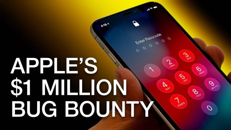 Apple will reward you with up to $1.5 million if you find a bug