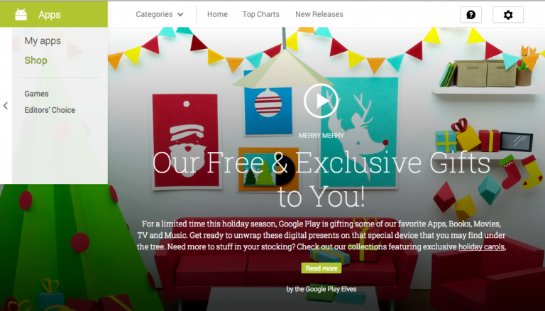 At Christmas, give away these apps and games