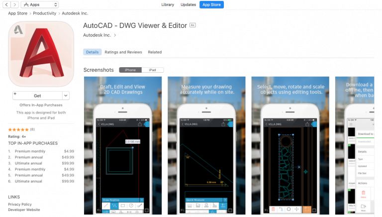 AutoCAD WS for iPad, iPhone and iPod Touch now available on the App Store