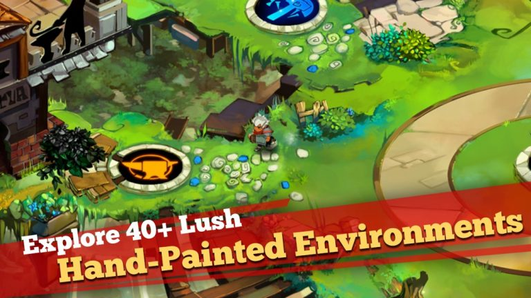 Bastion, the best Action-RPG for iPad