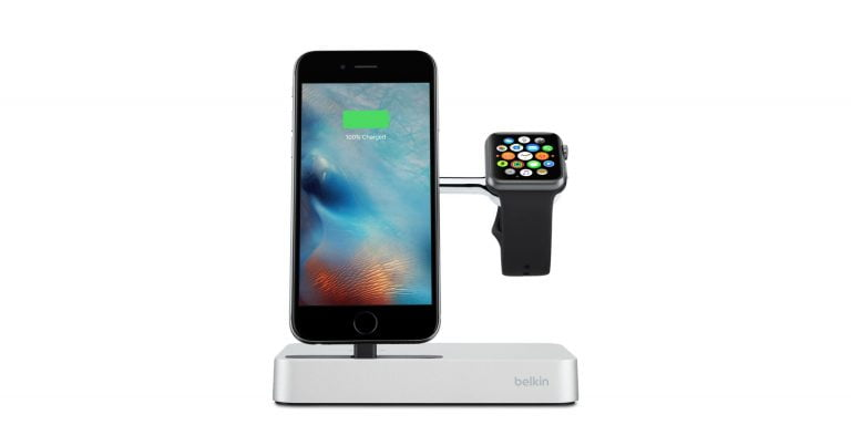 Belkin Introduces Charging Cradle for iPhone and Watch