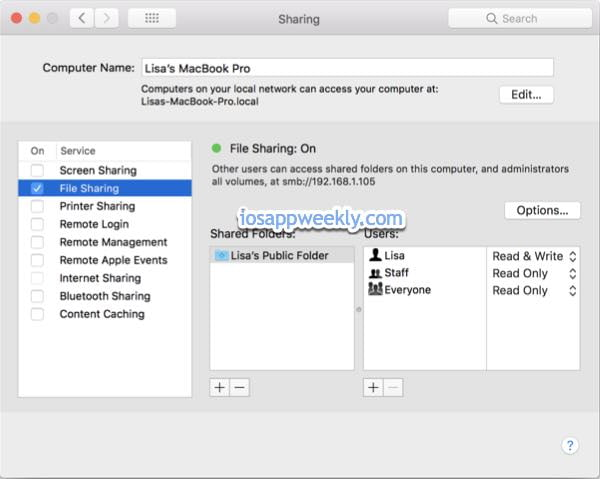 Bluetooth File Sharing on iPhone or iPad