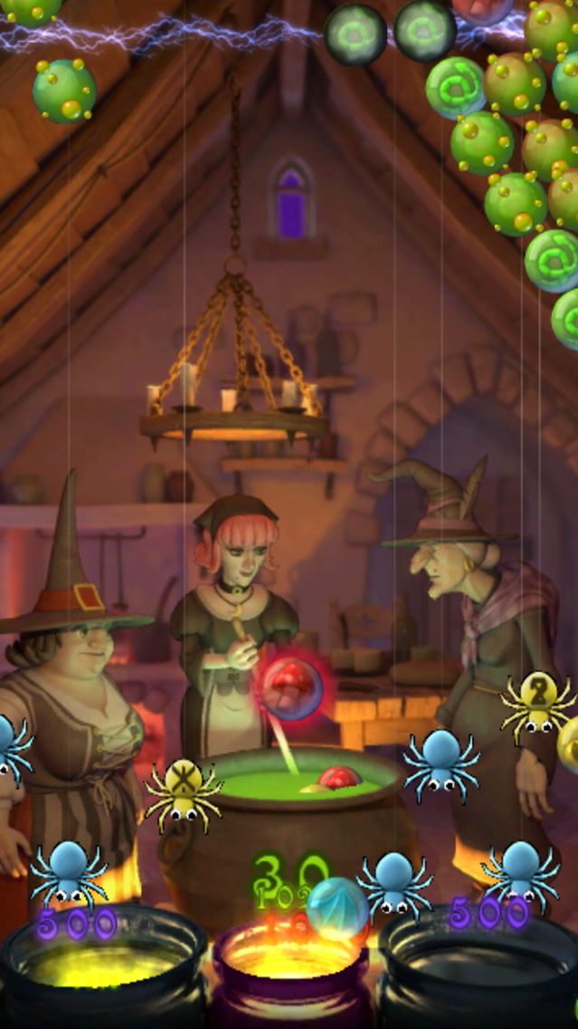 Bubble Witch Saga 2 para iPad y iPhone